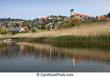 Tihany at Lake Balaton - The small village of Tihany Balaton...