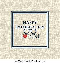 father day background - Abstract father day background with...