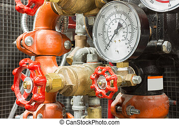 fire fighting system - Industrial fire control system