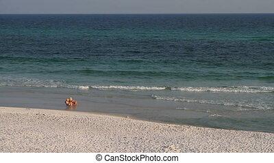 Vacationing At The Seashore
