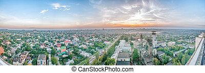 overcast urban landscape Donetsk, DPR - overcast urban...
