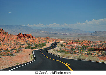 Road in Canyonlands National Park