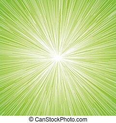Sun Burst Blast Green Background - Sun Burst Blast Speed...