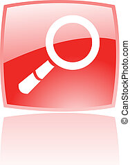 Red magnifier