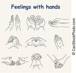 Hand-drawn emotions