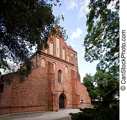 Church of Visitation - Old restored church of the Visitation...