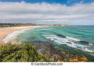 Bondi Beach - Sydney, Australia - Bondi Beach in Sydney,...