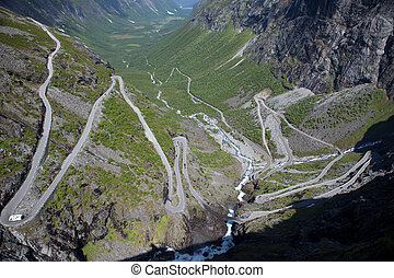Trollstigen mountain pass