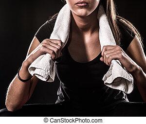 Fitness Girl Detail