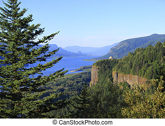 Crown point, Columbia River Gorge O
