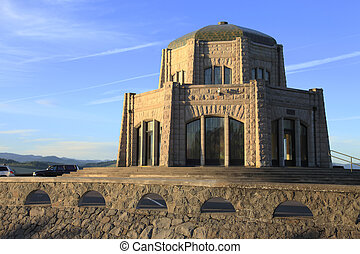 Vista house a landmark monument, OR