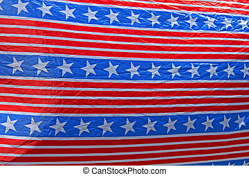 stars and stripes material background