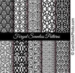 Forged Seamless Patterns Set