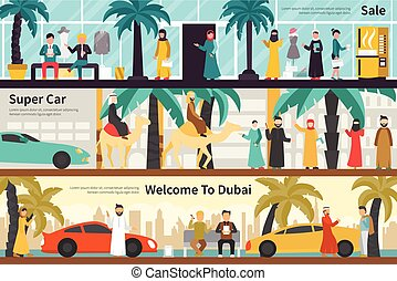 Sale Super Car Welcome To Dubai flat office interior outdoor...