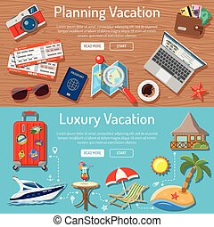 Planning Luxury Vacation Concept - Planning Luxury Vacation...