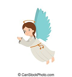 angel wing halo icon vector - angel heaven musical...
