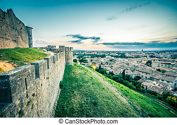 Carcassonne in France