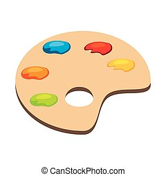 palette art color - palette art paint color instrument tool...