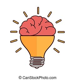 brain bulb light