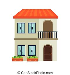 house residential architecture modern building