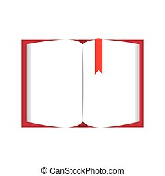 book page blank