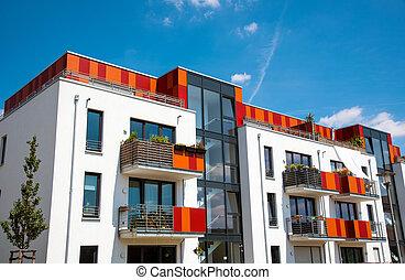 Modern multi-family house in Berlin - Modern multi-family...