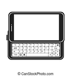 smartphone screen mobile keyboard - smartphone screen...