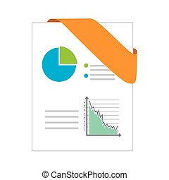 ppt format chart corners data office business vector...
