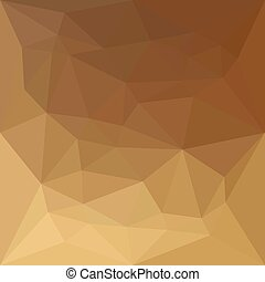 Dark Tangerine Abstract Low Polygon Background - Low polygon...