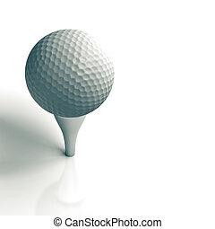 golf ball - sport equipment