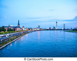Duesseldorf, Germany HDR - High dynamic range HDR...