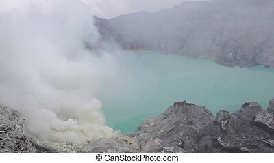 Crater Ijen Volcano - Indonesia, East Java