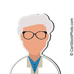 doctor or medic icon - flat design doctor or medic icon...