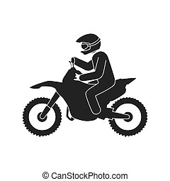 motorcycle sport extreme adventure sportive driver bike...