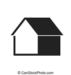 property house silhouette