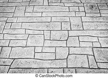 Stone walk path background - Stone walk path background