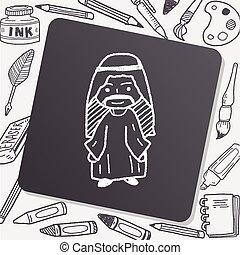 Arabian doodle