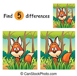 Game for Kids - Vector Illustration of Game for children...