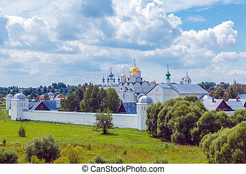 Pokrovsky Monastery, Convent of the Intercession, Suzdal,...