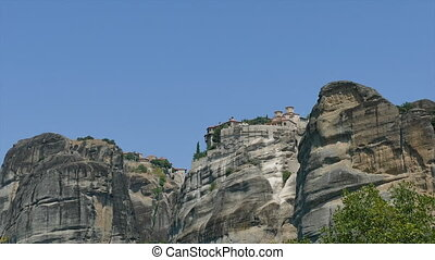 Monastery Meteora, Greece Thessaly - Holy Monastery Varlaam...