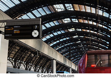 Milan Central Railway Station, Italy