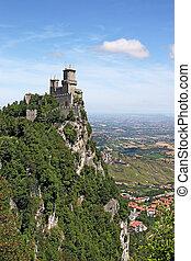 San Marino fortress Rocca della Guaita Italy