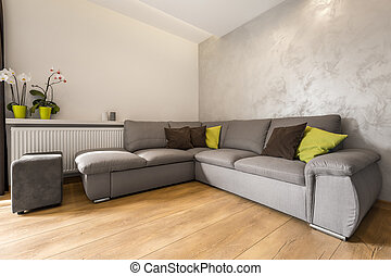 Perfect sofa for relax with family - Villa living room with...