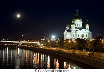 Christ The Savior In Moscow - The restored Cathedral of...