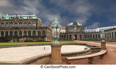 Zwinger Palace, Dresden, Germany - Zwinger Palace Der...