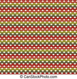 Knitted Christmas seamless pattern in traditional colors....