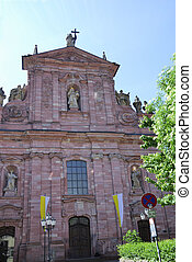 Jesuit Church Jesuitenkirche in Heidelberg Germany