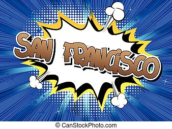 San Francisco - Comic book.