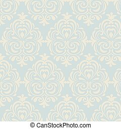 Classic style floral pattern - Classic style floral ornament...