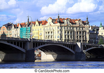 Enchanting city of Prague - Czech city of Prague is...